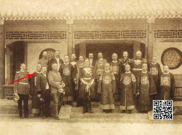 1898年德国亨利王子访华