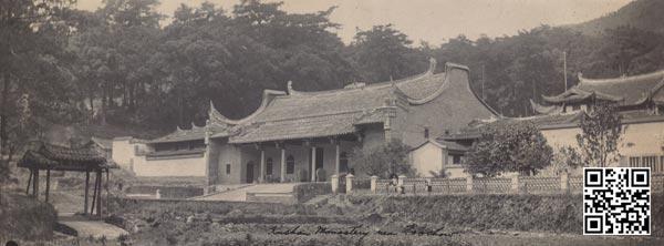 1910年代的涌泉寺山门