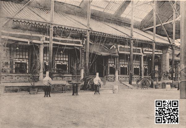 被烧毁之前的中南海仪銮殿