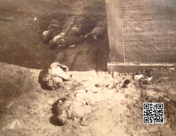 南京沦陷后被虐杀的中国战俘