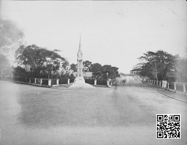 1880年代初外白渡桥南