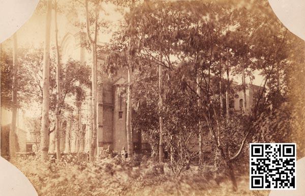 建成不久的紫竹林教堂