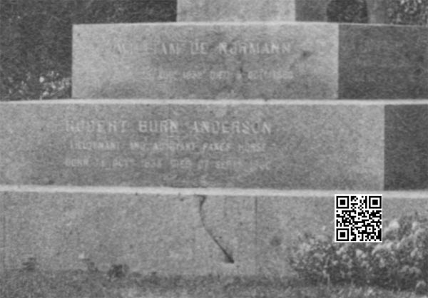 红石纪念碑细节