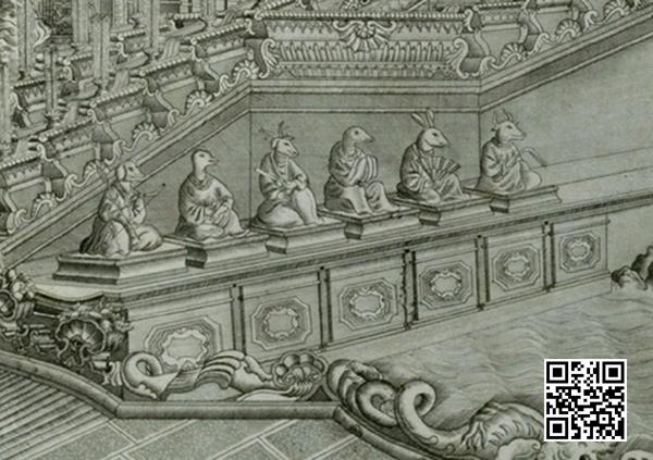 圆明园西洋楼铜版画中的十二生肖