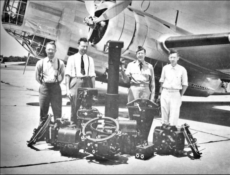 group photo of aerial cameras