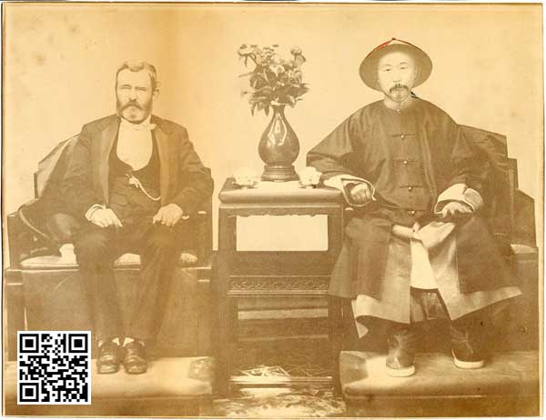 General Grant with Li Hung Chang in Tientsin